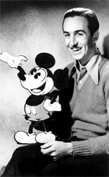 Walt Disney created Mickey Mouse.
